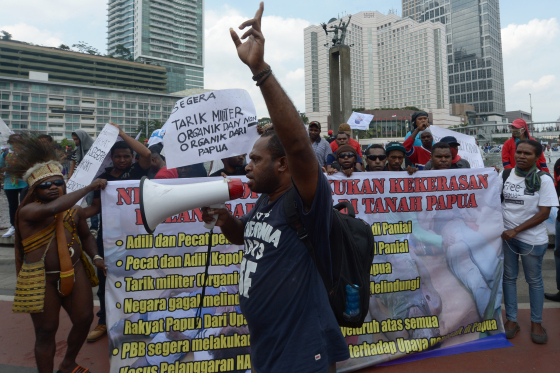 indonesia-papua-killings-protest